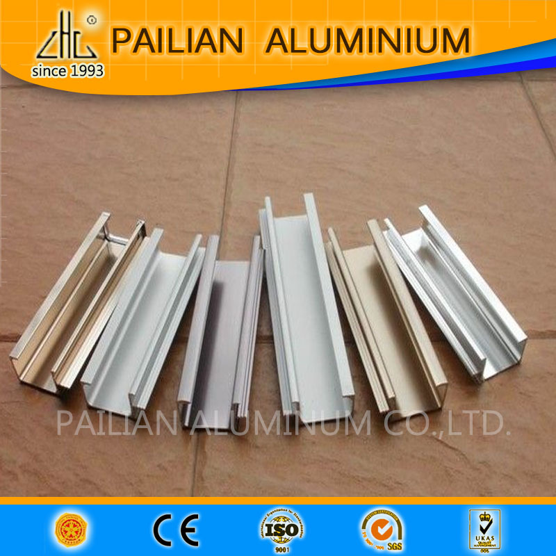 Forma h perfil de aluminio invernadero 3 6 m ruso - Perfil de aluminio en u ...