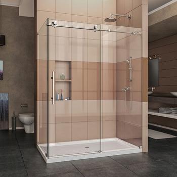 Kinmade Frameless Sliding Shower Enclosure 3/8\