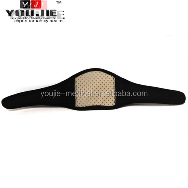 Tourmaline high-tech self-heating adjustable neck support