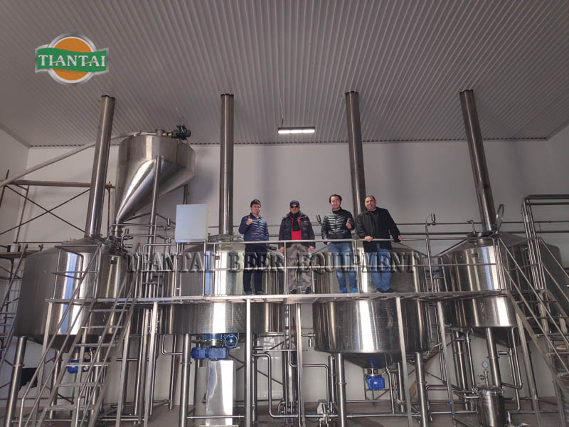 Factory supply 10hl 20hl 30hl 40hl 50hl craft commercial beer brewing equipment