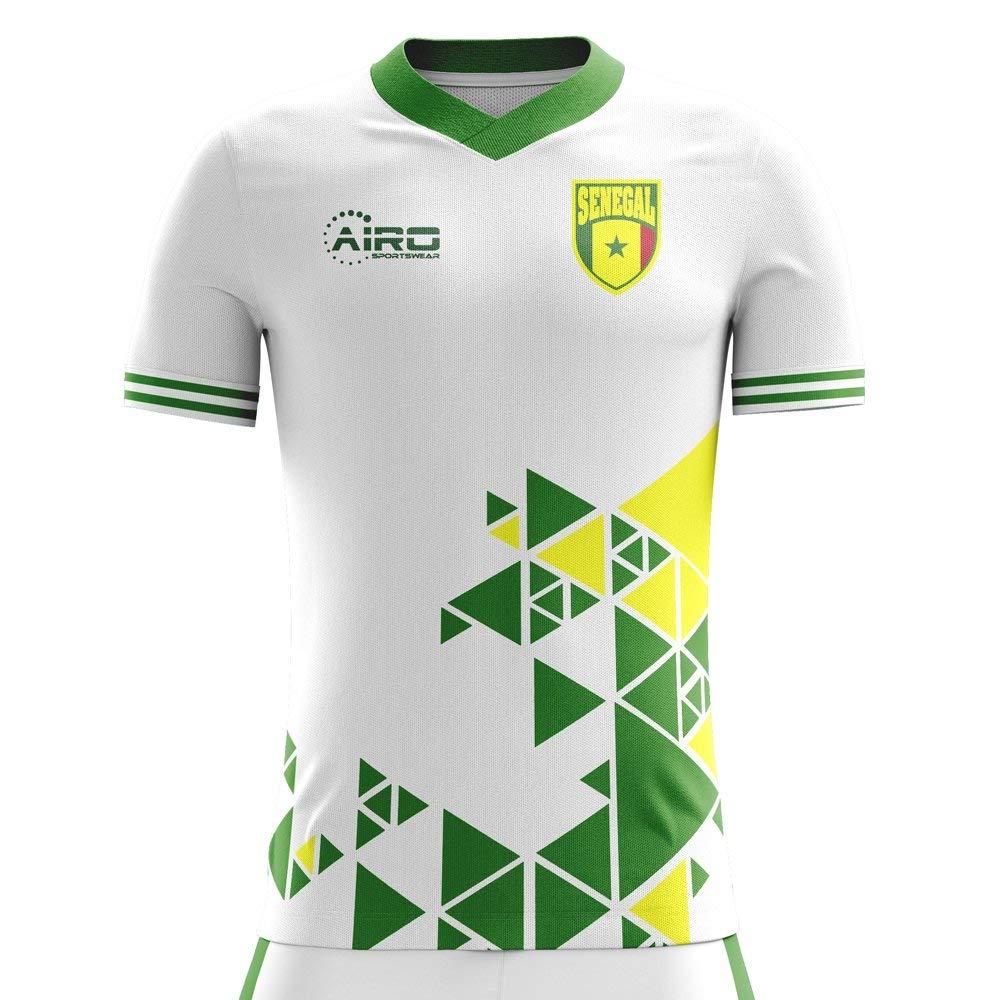 5fecf0614 Get Quotations · Airo Sportswear 2018-2019 Senegal Home Concept Football  Shirt (Kids)