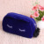 Ladies Fashion Cat Shaped Velvet Cosmetic Bag with Zipper
