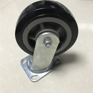 Double ball bearing pvc material casters