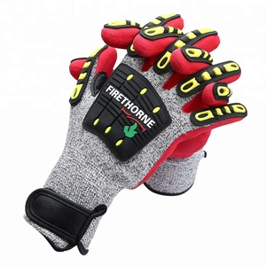 American Heavy Duty Mechanic Safety Gloves Cut Resistant Anti Puncture Waterproof Safety Gloves