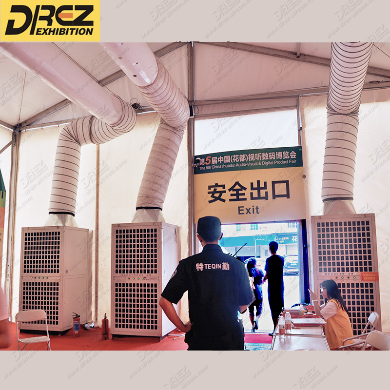 Drez Outdoor Event 25hp Tent Temporary Air-Ducted Air Conditioner