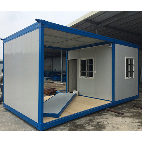 prefabricated 30 ft container hut low cost modular. Black Bedroom Furniture Sets. Home Design Ideas