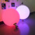 Water light plastic ball led outdoor garden colorful glowing ball lamp KTV bar supplies pool lamp 50 cm ball
