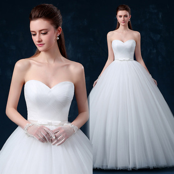 Perfect Strapless White Ivory Maternity Soft Tulle Pregnant Wedding