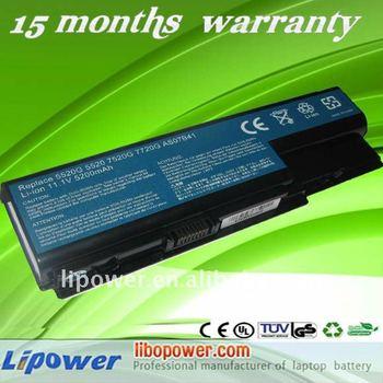 For Acer Aspire 5520g As07b32 Laptop Battery 11.1v/ 5200mah