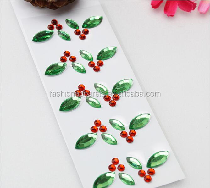 2017 Self Adhesive Jewelry Gem Rhinestone Crystal Stickers Body Tattoo Sticker From Professional Manufacture
