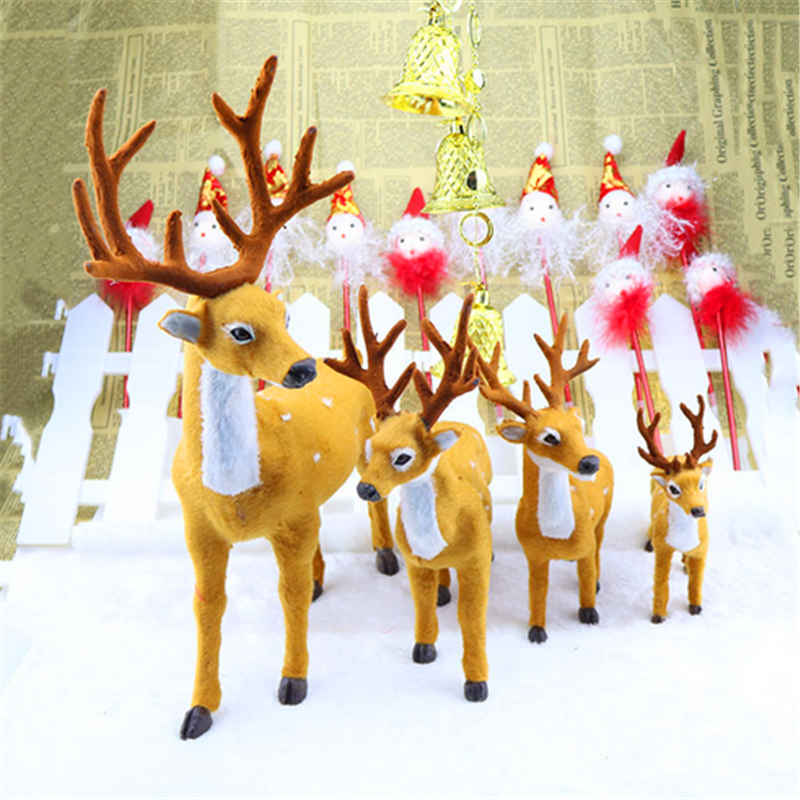 Hot Sale Christmas Deer in Christmas Decoration Supplies Santa Claus Christmas Deer ,Festival Decorative Items