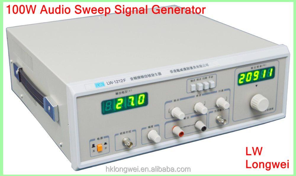 Audio Signal Generator : Audio sweep signal generator hz to khz