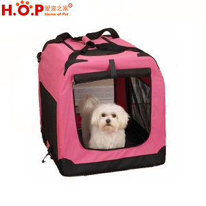 Luxury Sturdy Folding Crate Wholesale Soft Pet Crate Dog Crate
