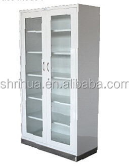 CE ISO Approved Hospital Equipment Stainless Steel Medical Medicine  Instrument Cabinet