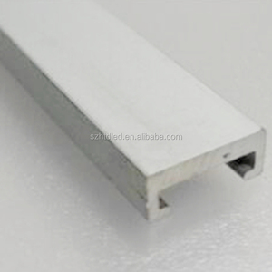 U shape aluminum extruding heatsink / aluminum led lamp heatsink profile for led linear light