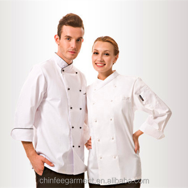OEM Chef Uniform Restaurant Uniform Hotel Uniform