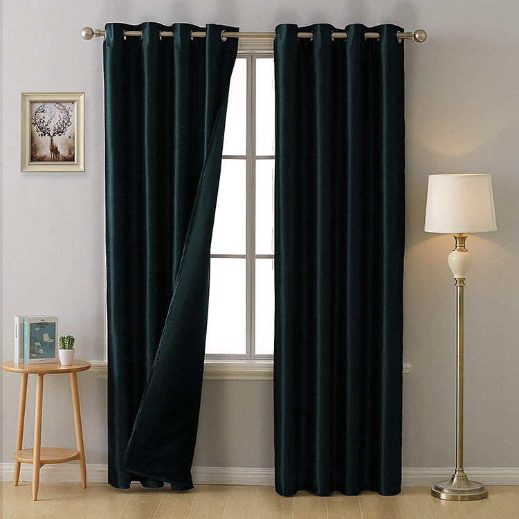 High Quality Classic Upholstery Thermal Blackout Window