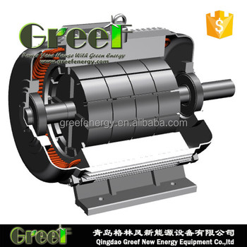 Low Rpm Low Speed 200kw Permanent Magnet Generator