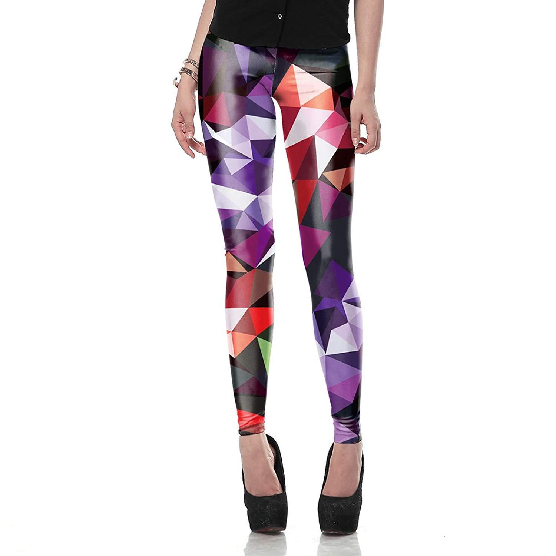 2fe57fb9ccd3e Get Quotations · Women leggings Geometric Boho Art Printed leggings  Creepinup Sexy Slim Women Pants