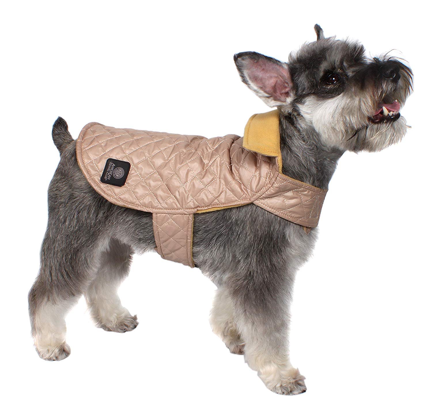 AKC Diamond Quilted Puff Coat