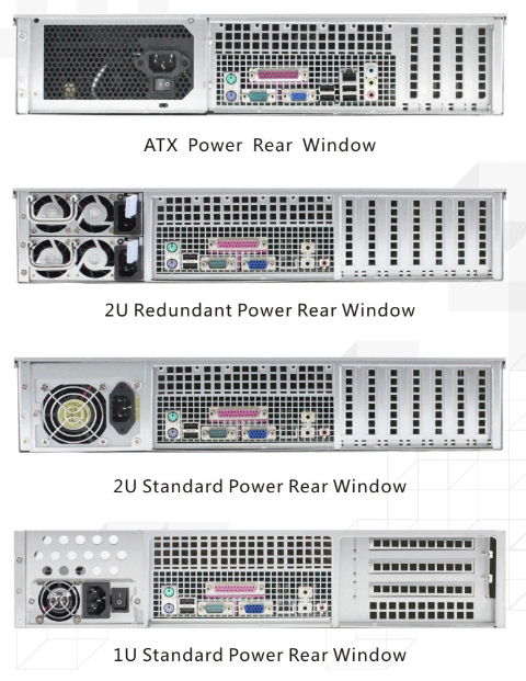 ED208H65 2u 8bays hot swap server chassis computer chassis rack server chassis with 12GB