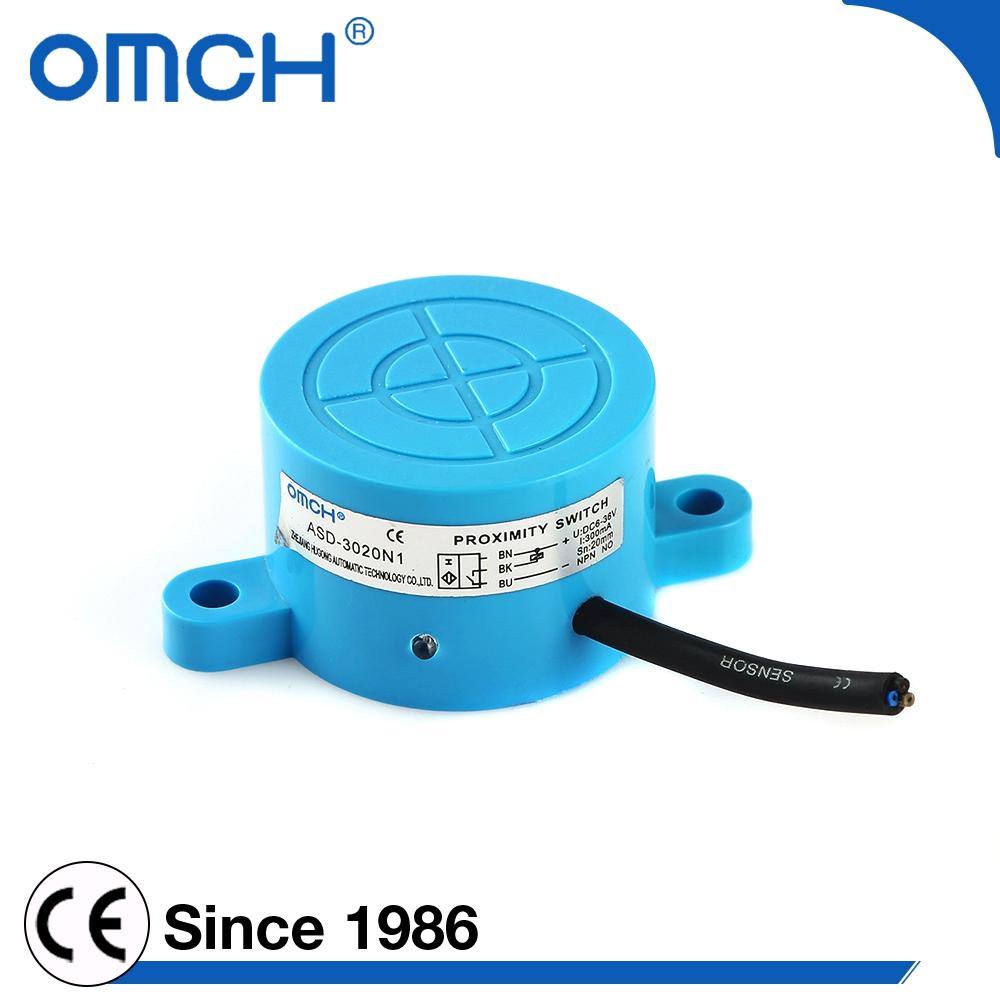 Sn 20mm Oem Pnp Type Metal Detector Proximity Sensor With Ce - Buy ...