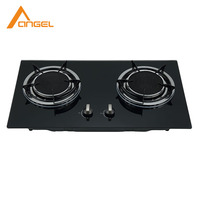 Wholesale China Kitchen Table Lpg Gas Stove Tempered Glass Built In Infrared 2 Burner Gas Cooker Stove