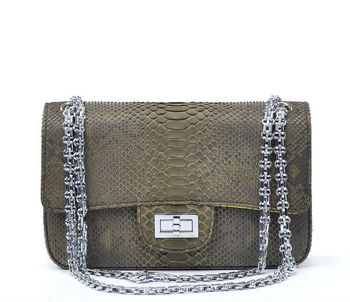 Fashion Genuine Snake Bag for Women Manufacturer in China