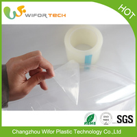 Alibaba Supplier Surface Protection Temporary PE Self Adhesive Plastic Film Industry