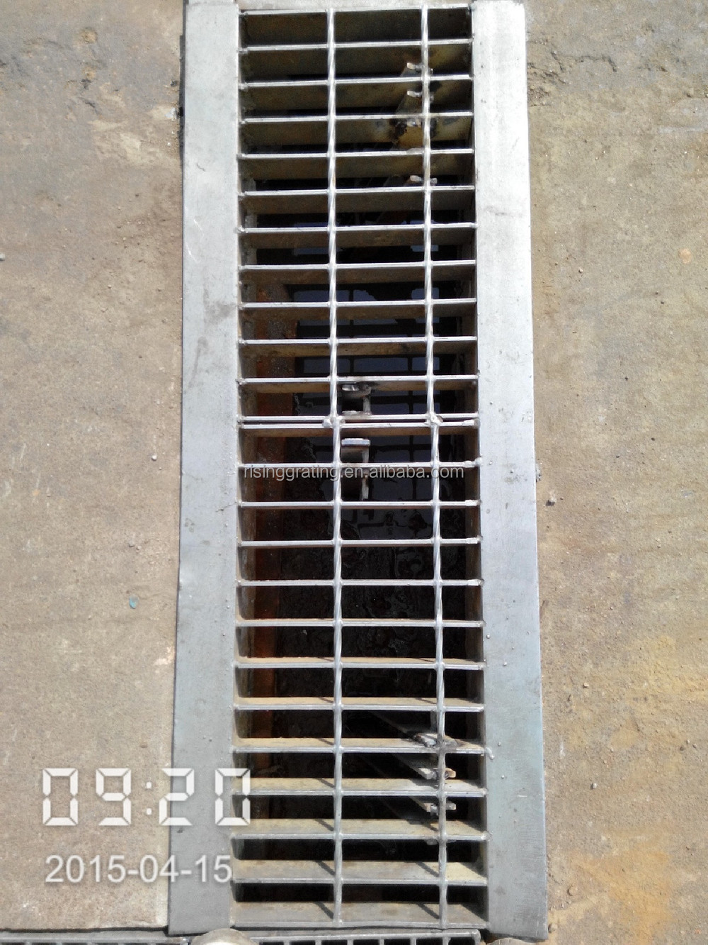 Construction Material Steel Grating Price Drain Trench