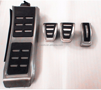 Car accessories hot sale car fuel/brake/rest pedal for audi A6 2013 parts