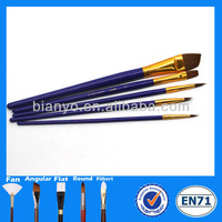 Hot sale blue beauty good quality nail art brush