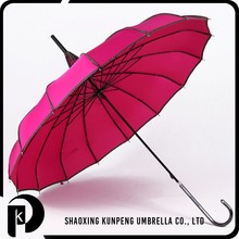 Fancy 16 Ribs custom straight umbrellas promotional high quality cheap lace pagoda umbrella for lady