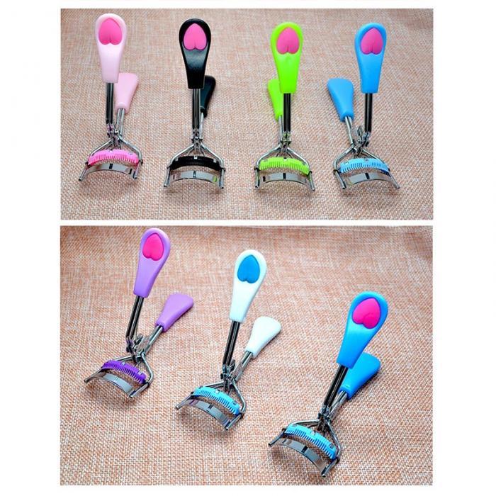 Hot Sale Eyelash Curler With Comb Heart Tweezers Curling Eyelash Clip  Cosmetic Warping Eyelashes Beauty Mascara Tool Eyelash Enhancers Eyelash  Growth