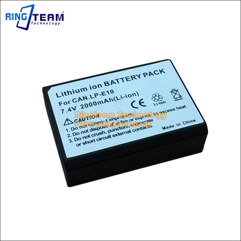 Digtal Battery Lp-e10 Lpe10 E10 For Canon Eos Rebel T3 T5 T6 / Eos 1100d  1200d 1300d / Kiss X50 Cameras - Buy Lp-e10,For Canon 1100d,For Canon 1300d