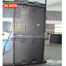 Outdoor P15 Transparante Mesh <span class=keywords><strong>LED</strong></span> Display Grille <span class=keywords><strong>LED</strong></span> Screen