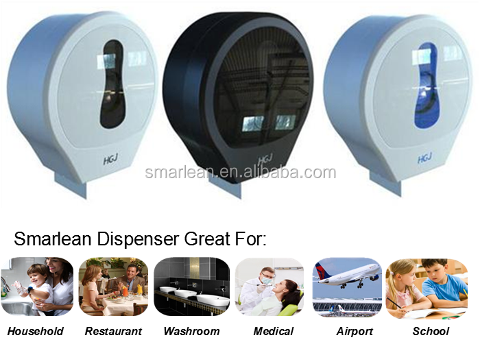 Jumbo Roll Toilet Paper Tissue Dispenser Wall Mounted Paper Holder