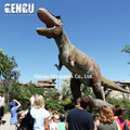 Outdoor Amusement Park High Simulation T-rex Robotic Dinosaur