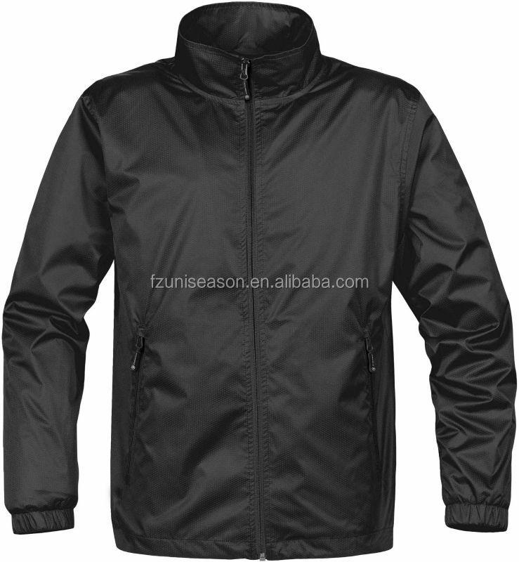 Plain Black Windbreaker Jacket - Buy Plain Black Windbreaker ...