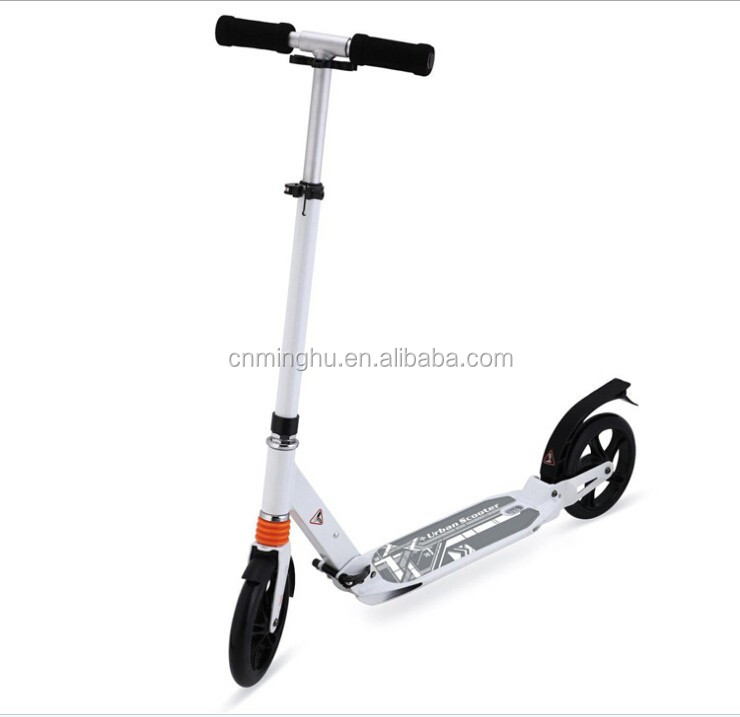 Fctory price and CE approved kick scooter for europe adult kick scooter with 200mm wheel