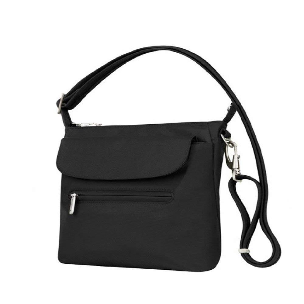 Travelon Anti-Theft Adjustable Shoulder Bag Slim RFID Blocking Travel Purse