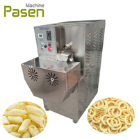 Corn puff cheese ball machinery / Corn puff snack extruder / Corn snack making machine