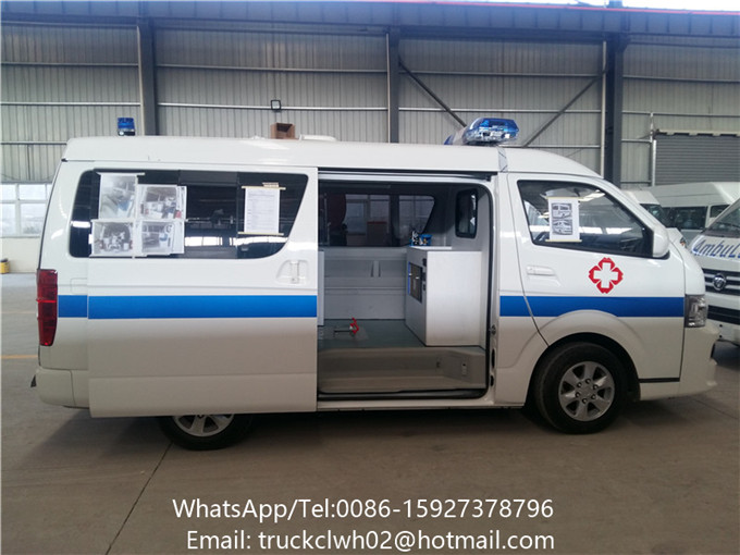 Best Price Rated 5-7 Passengers Ambulance Vehicle, New