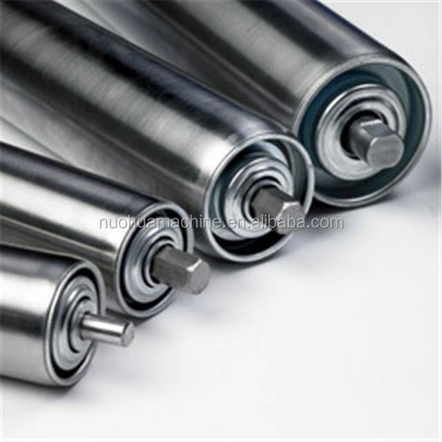 stainless steel gravity roller