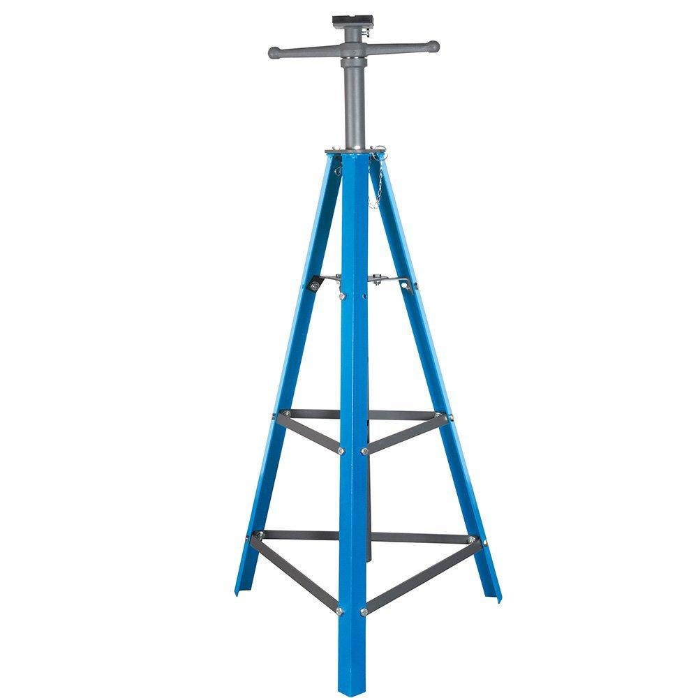 "2 Ton Tri-Pod Under Hoist Stand 53"" - 80"" Support Hoist Lift Kit Floor Car Stand"