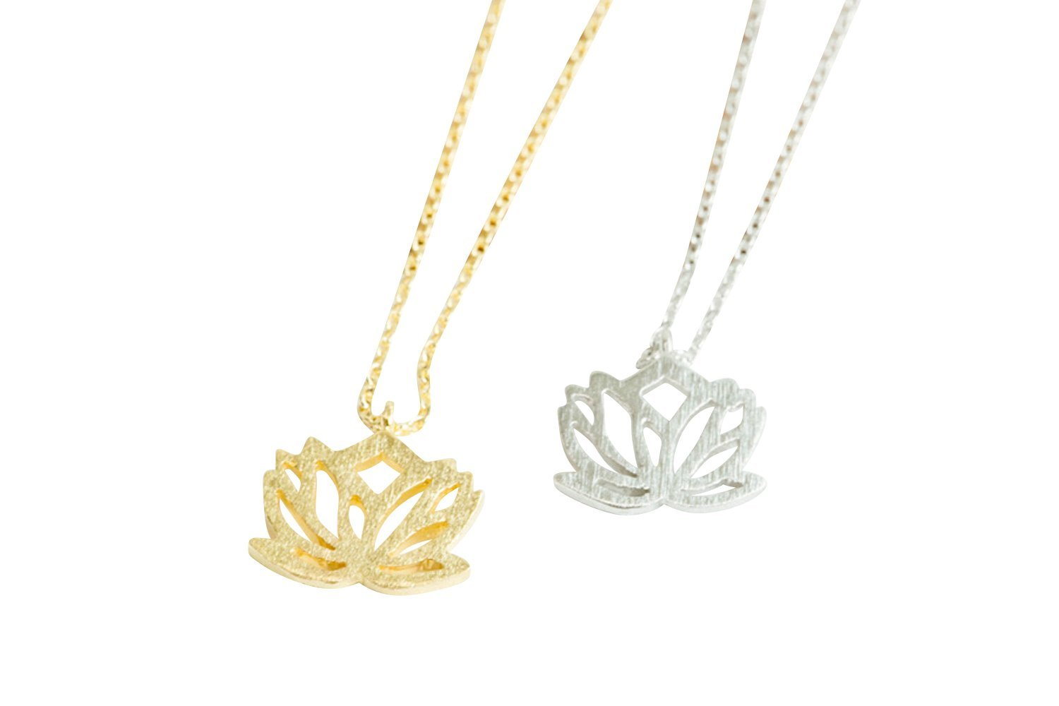 Cheap New Beginnings Lotus Flower Necklace Find New Beginnings
