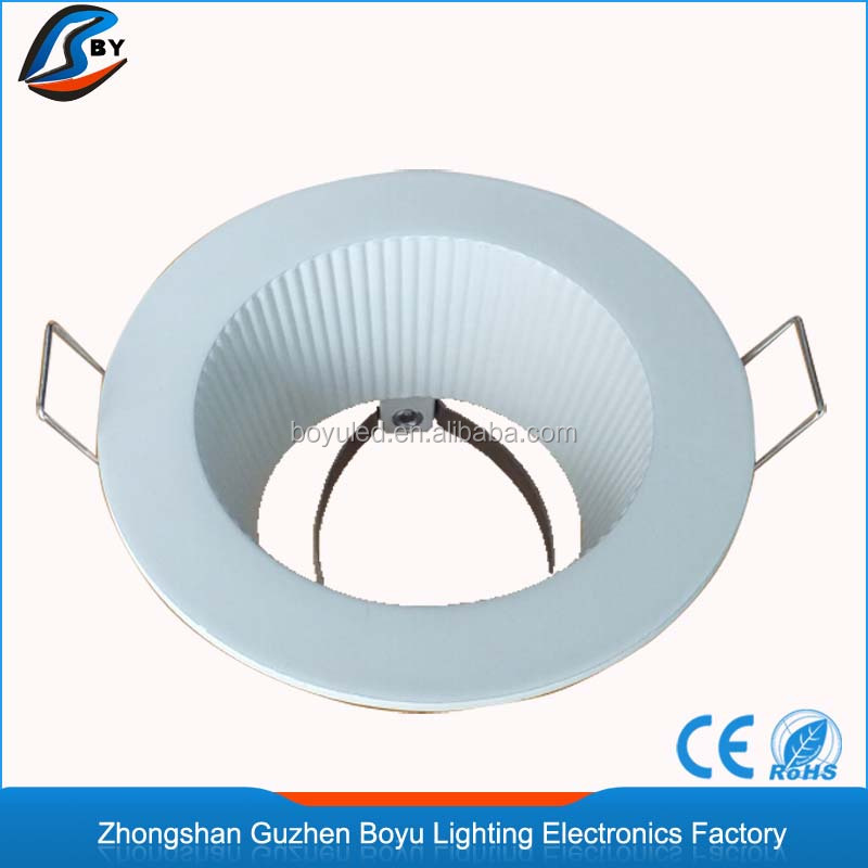 Led recessed light fixture trims white round downlight frame housing led recessed light fixture trims white round downlight frame housing cut out size 70mm made in china buy downlight frameled recessed light fixturewhite aloadofball Gallery