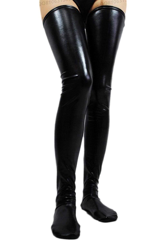 0fc2b7e98264 Women Thigh Length Stockings Socks Lingerie Bodycon Anti-skid Costumes