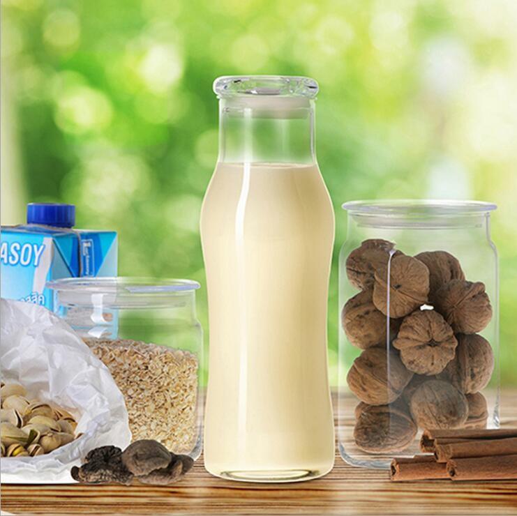 Milk Thermos Bottle Glass Milk Bottles With Caps Wholesale