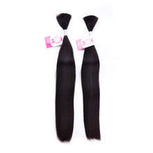 Wholesale Remy Virgin Malaysian Double Drawn Bulk Braiding Hair